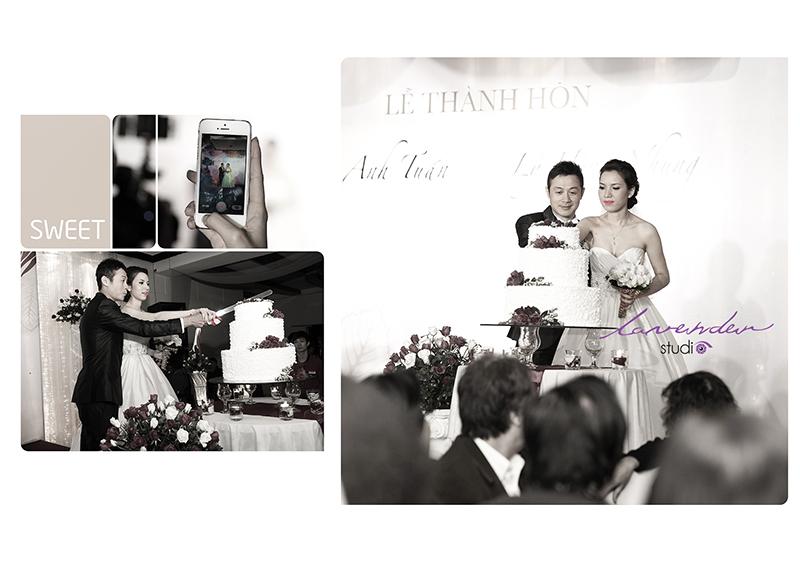 Lý Hồng Nhung tổ chức đám cưới cùng MC Anh Tuấn