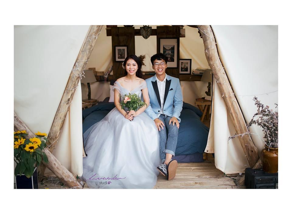 chụp hình cưới tại homestay