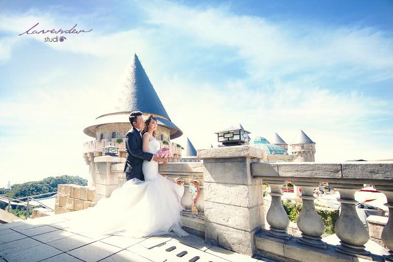 kết hợp giữa chụp ảnh cưới và du lịch ở đà nẵng