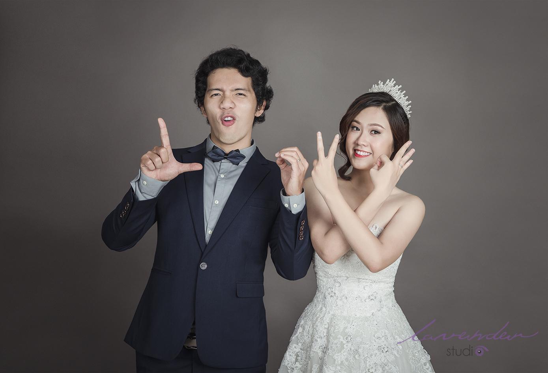 Phong cách ảnh cưới Hàn Quốc được thực hiện tại Studio