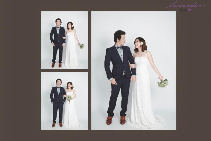 Chụp hình cưới tại Studio