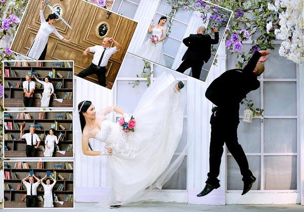 4 ý tưởng chụp ảnh cưới siêu hài hước 2
