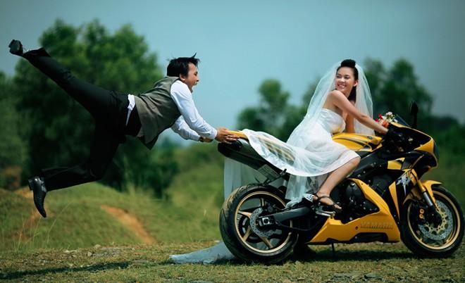 4 ý tưởng chụp ảnh cưới siêu hài hước 3