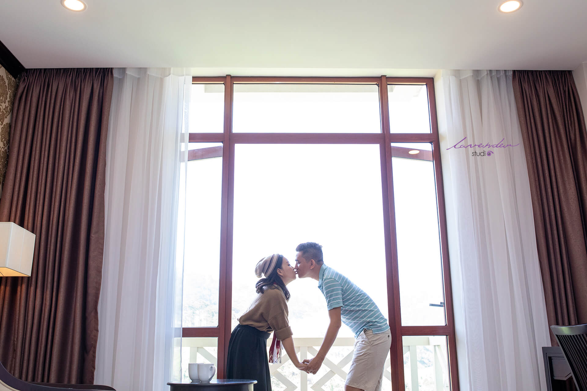 phim trường chụp hình cưới tại Đà Lạt lavender studio
