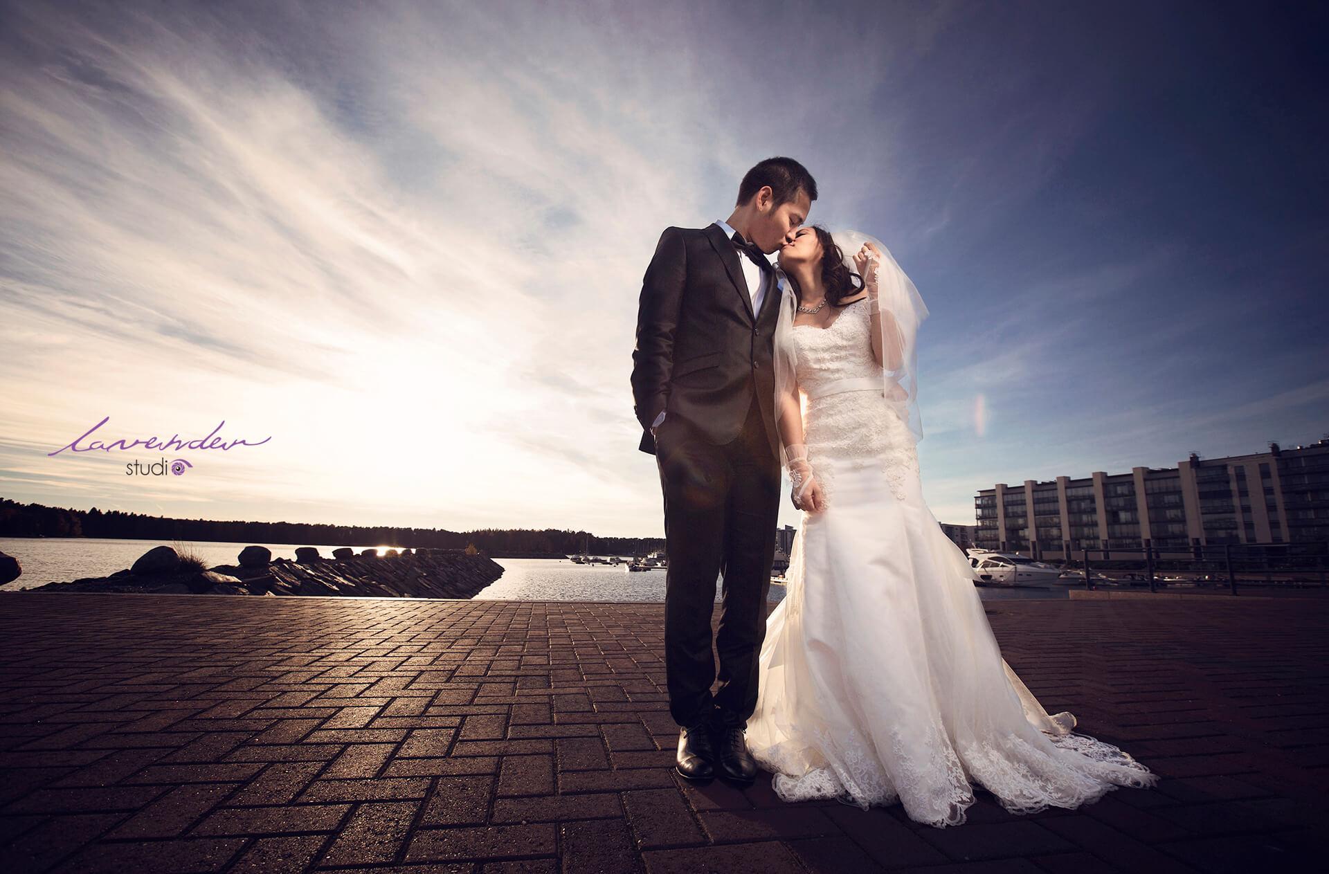 chụp hình cưới ngoại cảnh của Lavender