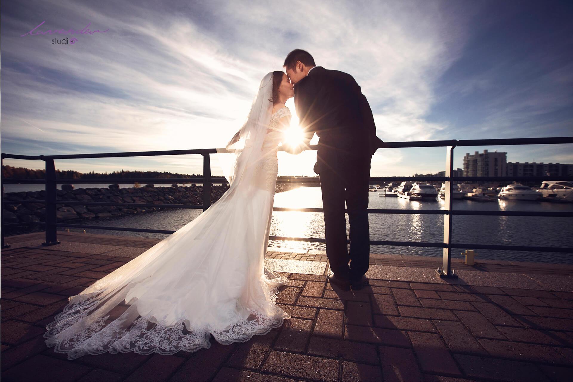 Lavender chụp hỉnh cưới ngoại cảnh