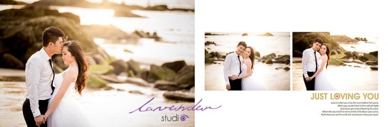 Lavender Gold – Ngoại cảnh Hồ Cốc – Hồ Tràm (HOT)