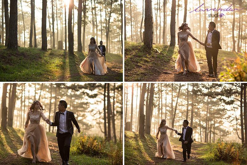 Chụp hình cưới rất đẹp tại Đà Lạt thành phố của Tình yêu