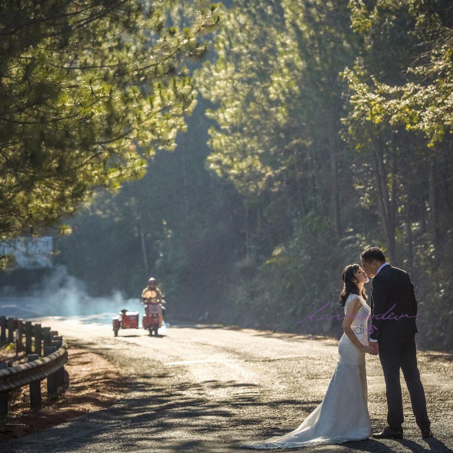 chụp hình cưới ngoại cảnh Đà lạt