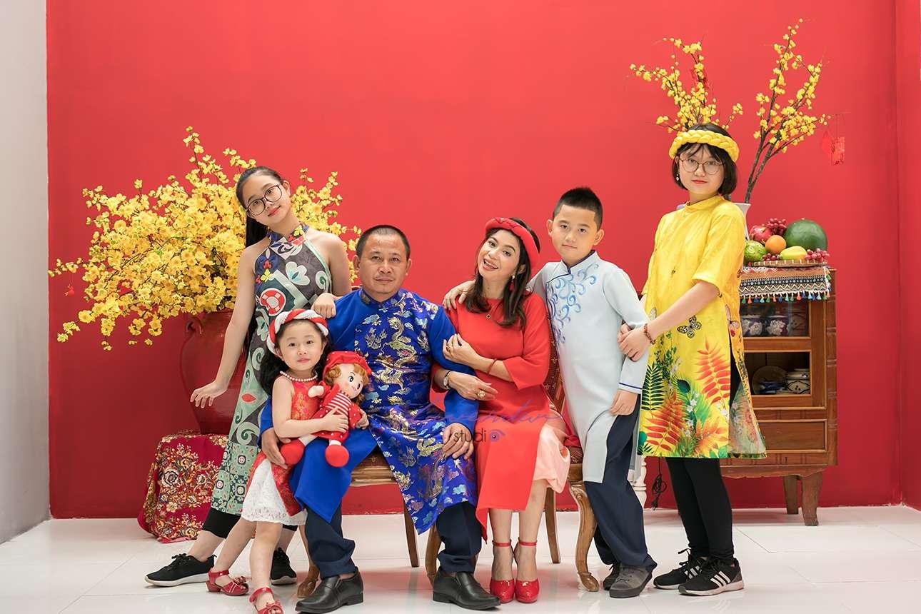 báo giá chụp ảnh gia đình Tết ở Sài gòn