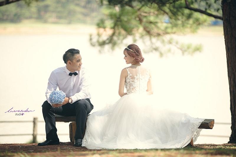 các địa điểm chụp ảnh cưới tại đà lạt