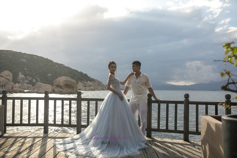 chụp hình cưới tại nha trang lavender studio