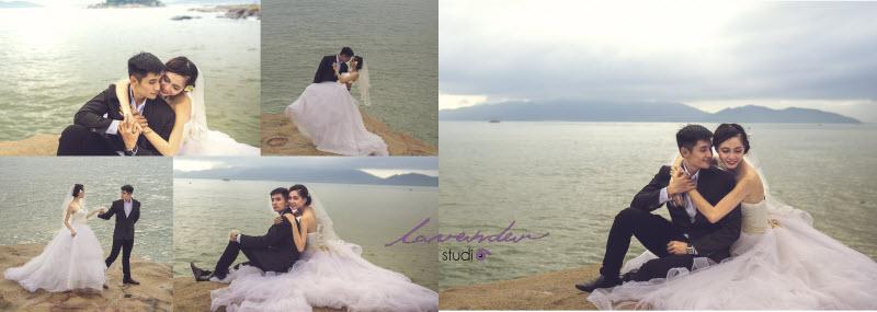 chụp ảnh cưới tại resort ngọc sương