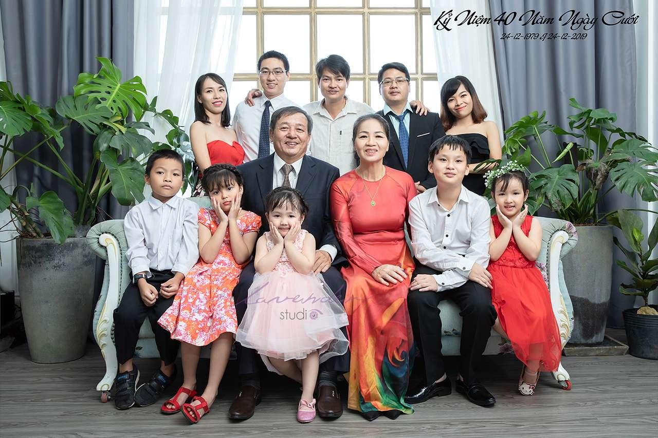 chụp ảnh đại gia đình đẹp