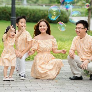 Đồng phục chụp ảnh cho cả gia đình