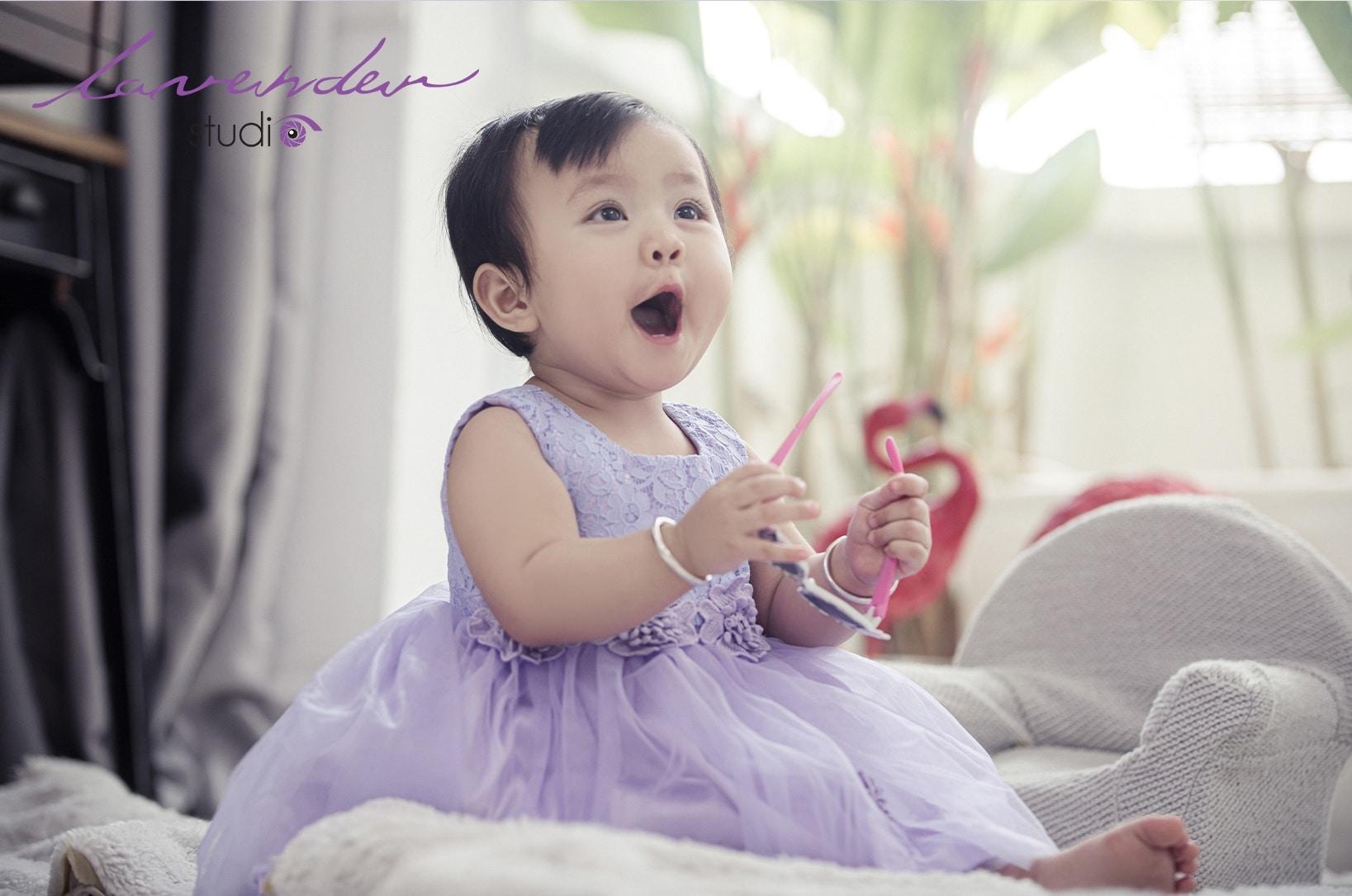 Chụp hình cho bé gái 1 tuổi tại tphcm