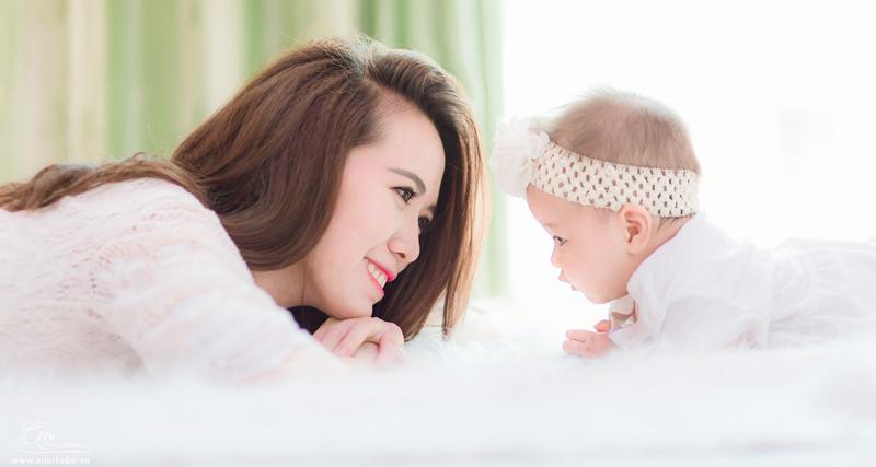 ý tưởng chụp hình cho mẹ và bé