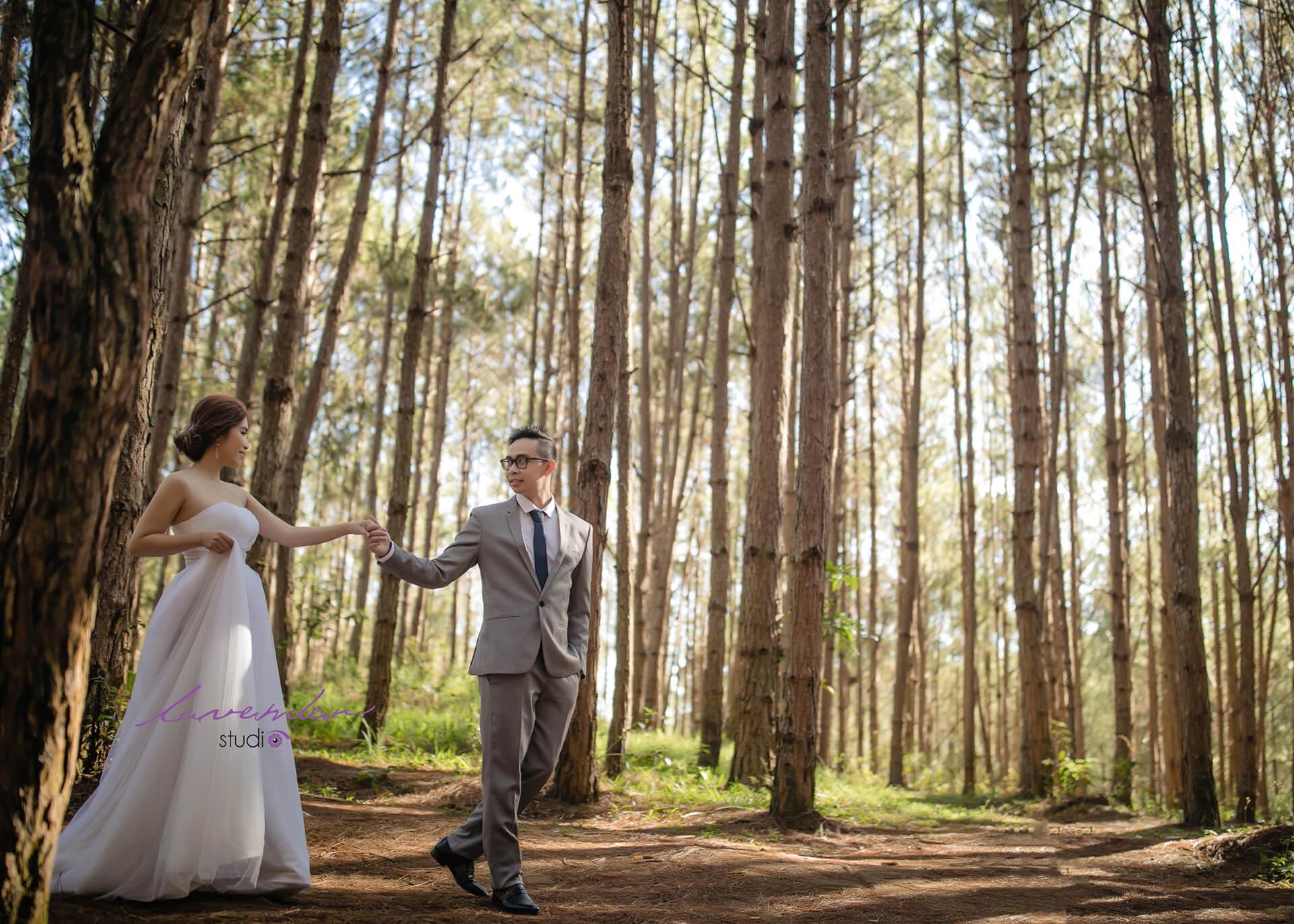 Gói dịch chụp hình cưới Đà Lạt giá rẻ