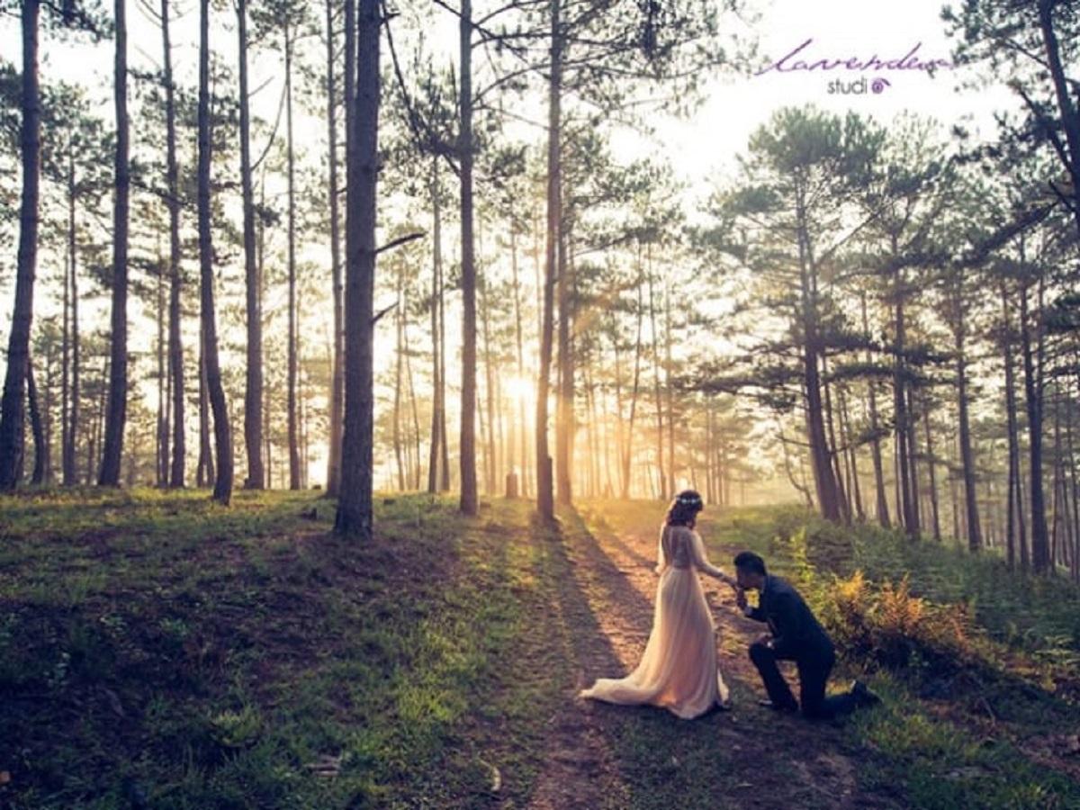 Studio chụp hình cưới Đà Lạt