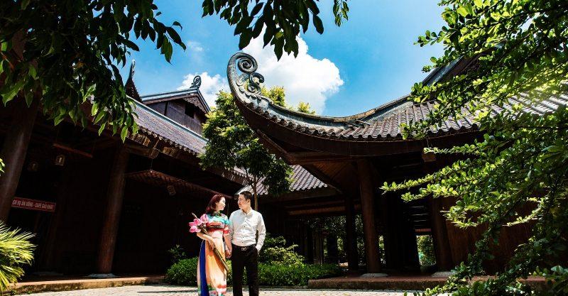 Mách bạn những địa điểm chụp ảnh cưới đẹp ở Bắc Ninh 2