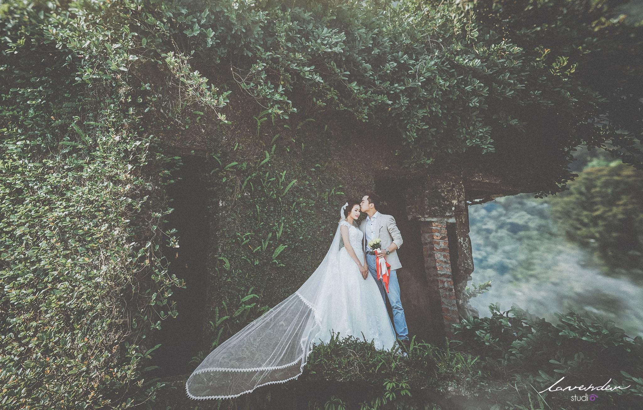 xu hướng chup hình cưới độc đáo