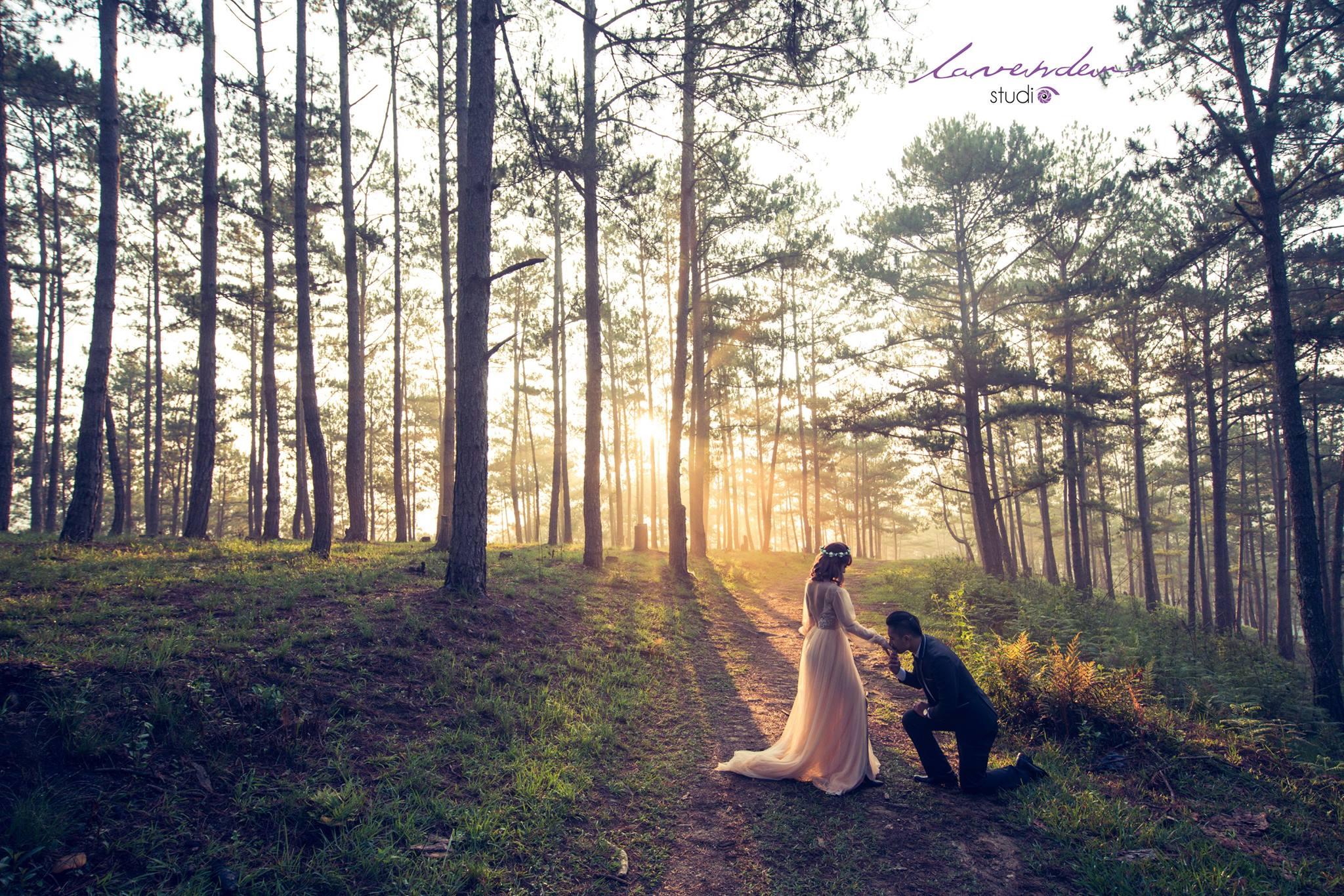 bối cảnh chụp ảnh cưới độc đáo