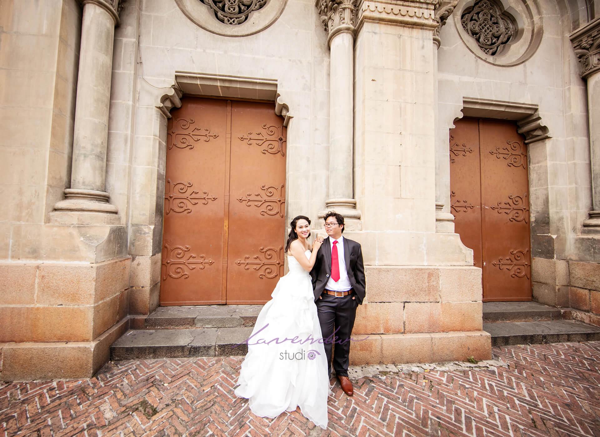 Studio hình cưới đẹp và rẻ tại Sài gòn