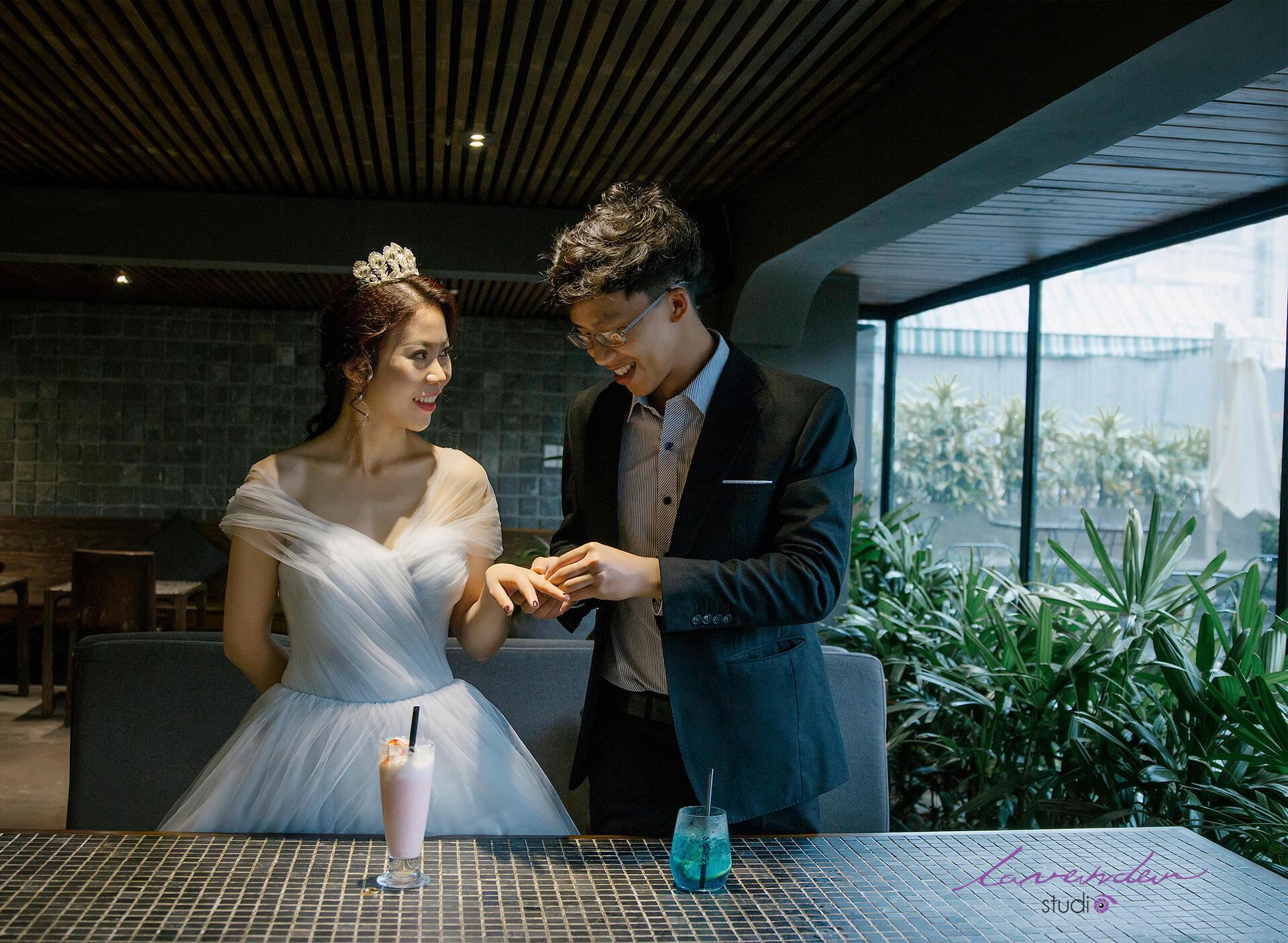 Dịch vụ chụp ảnh cưới tại phim trường