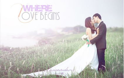 chụp hình cưới ở ngoại cảnh