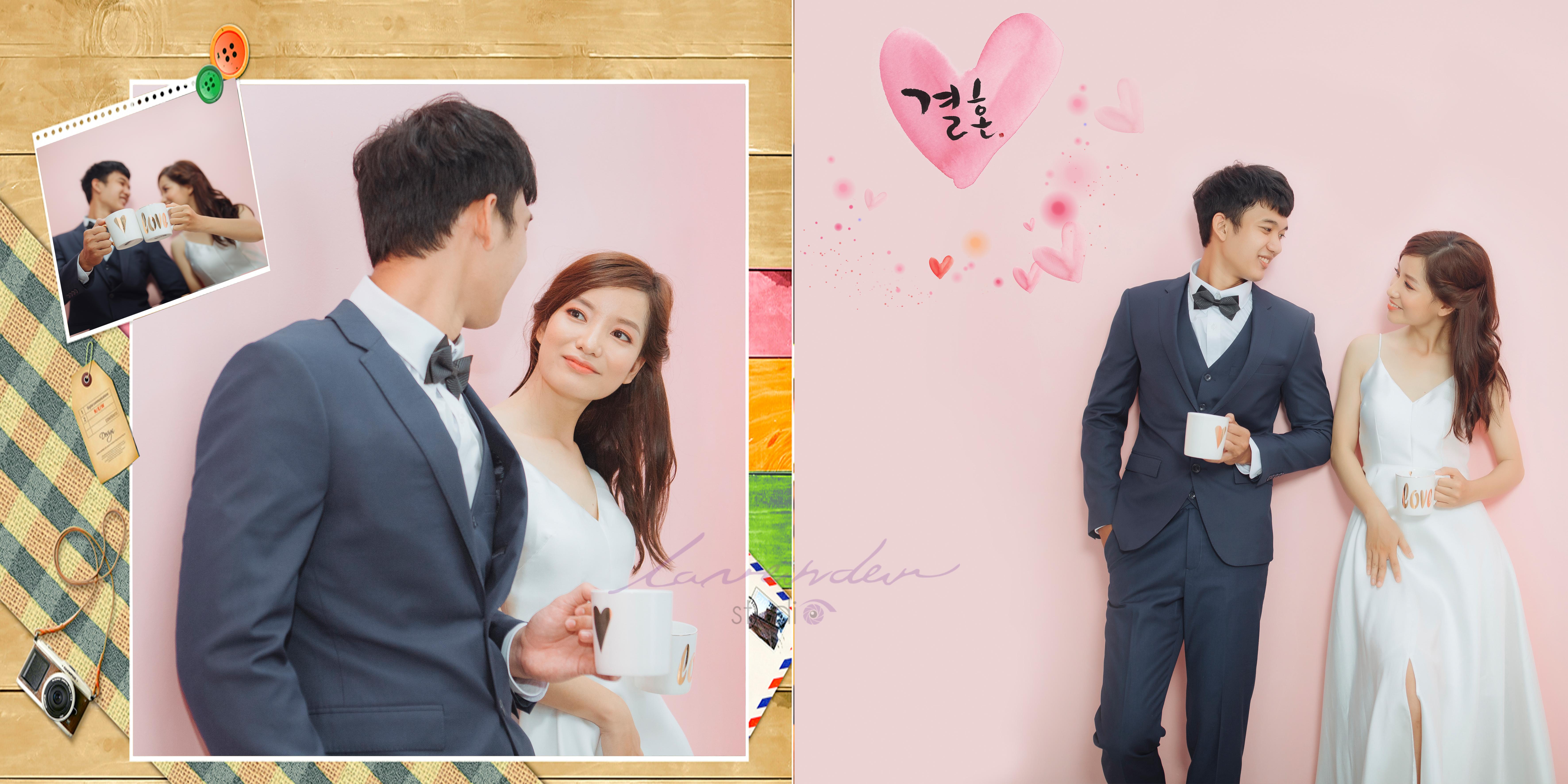 Phong cách chụp hình cưới Hàn Quốc