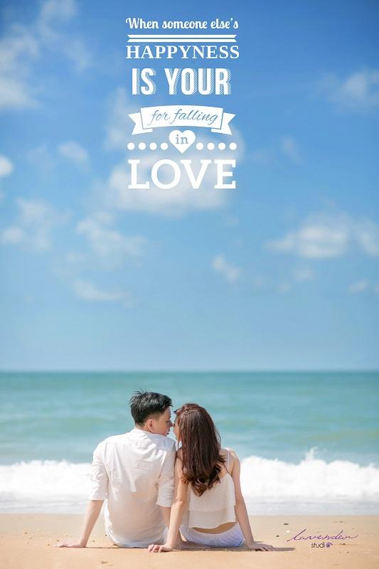 chụp hình cưới và du lịch tại hồ cốc