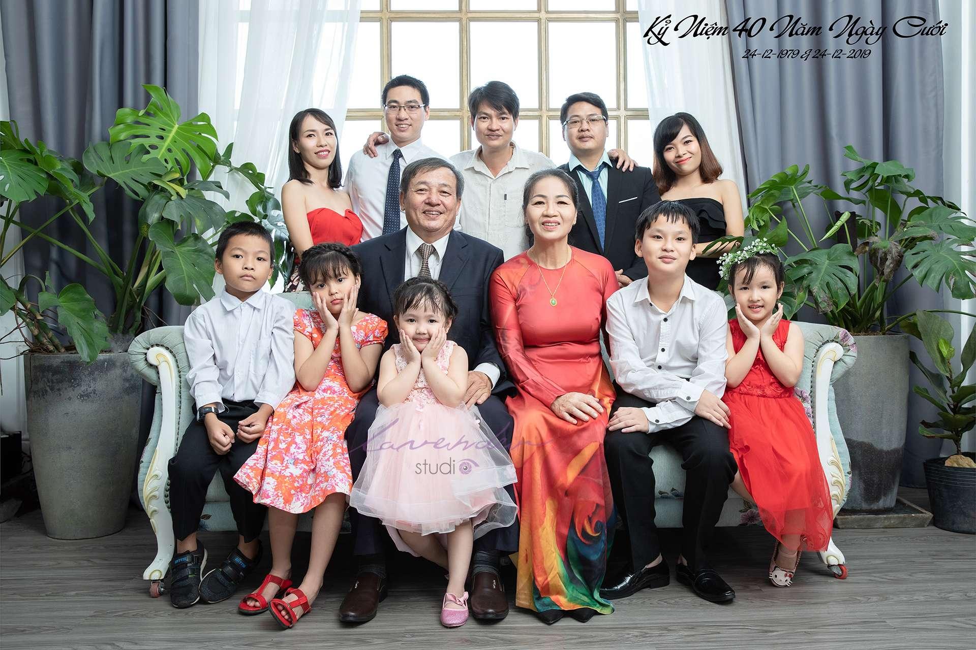studio chụp hình đại gia đình đẹp ở Hồ chí minh