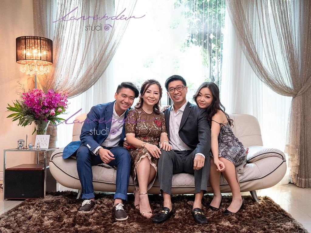 chụp hình gia đình dịp Tết