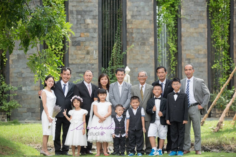 chụp ảnh đại gia đình dip Tet 2020 Sài gòn