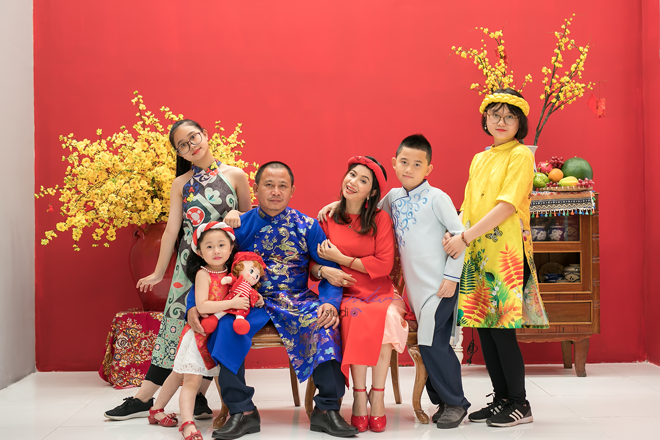 chup hinh gia dinh o saigon 01 Tìm địa chỉ chụp ảnh gia đình Tết 2021 ở Sài gòn