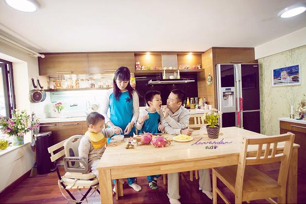 Chụp hình gia đình-chụp hình gia đình đẹp tại sài gòn