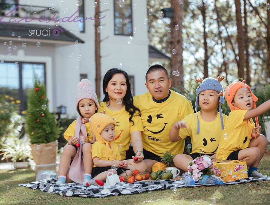 địa chỉ chụp ảnh gia đình ở Đà Lạt