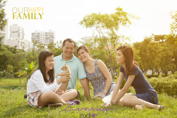 chụp hình nghệ thuật gia đình