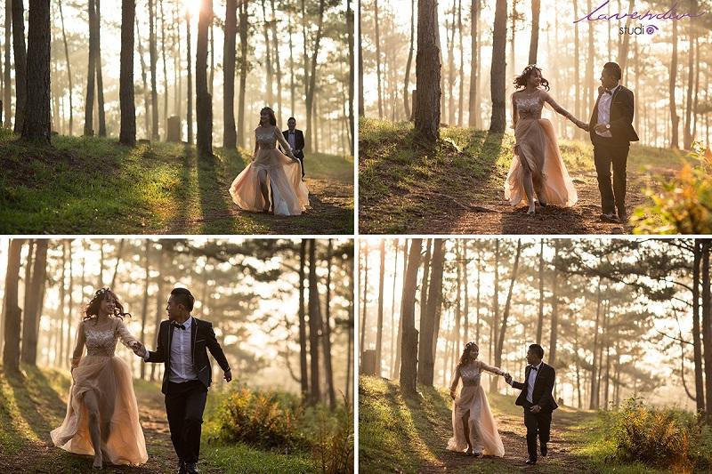 địa điểm chụp ảnh cưới đẹp tại đà lạt