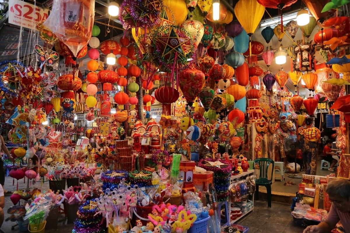 chụp ảnh Tết phố hàng Mã quận 5 TP Hồ chí minh
