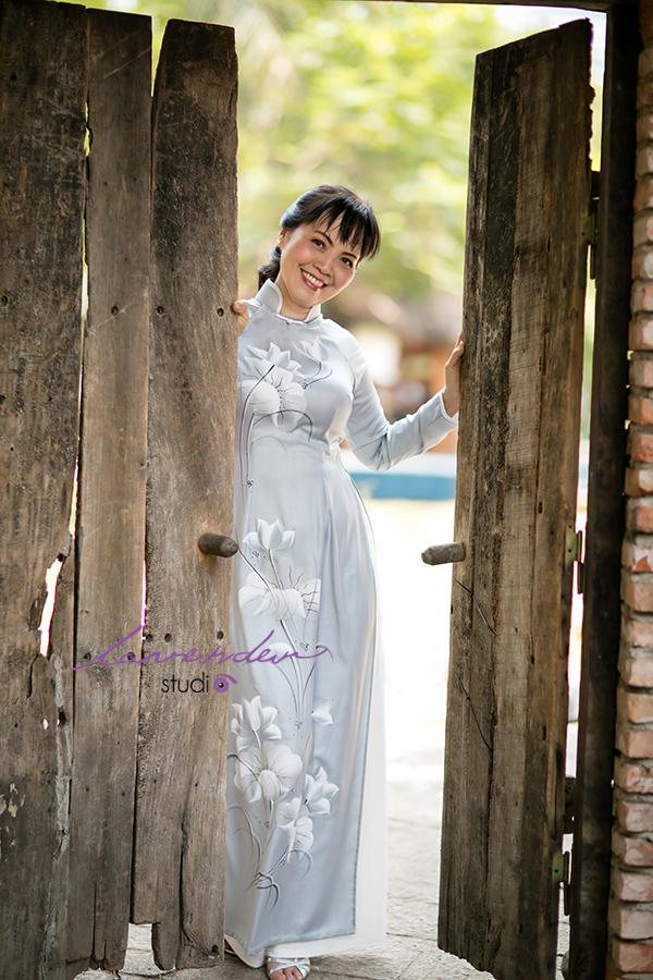 Chụp ảnh áo dài đẹp ở Sài gòn