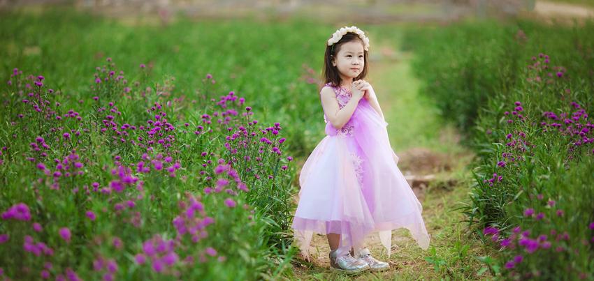 Địa điểm chụp hình cho bé tại Đà Lạt