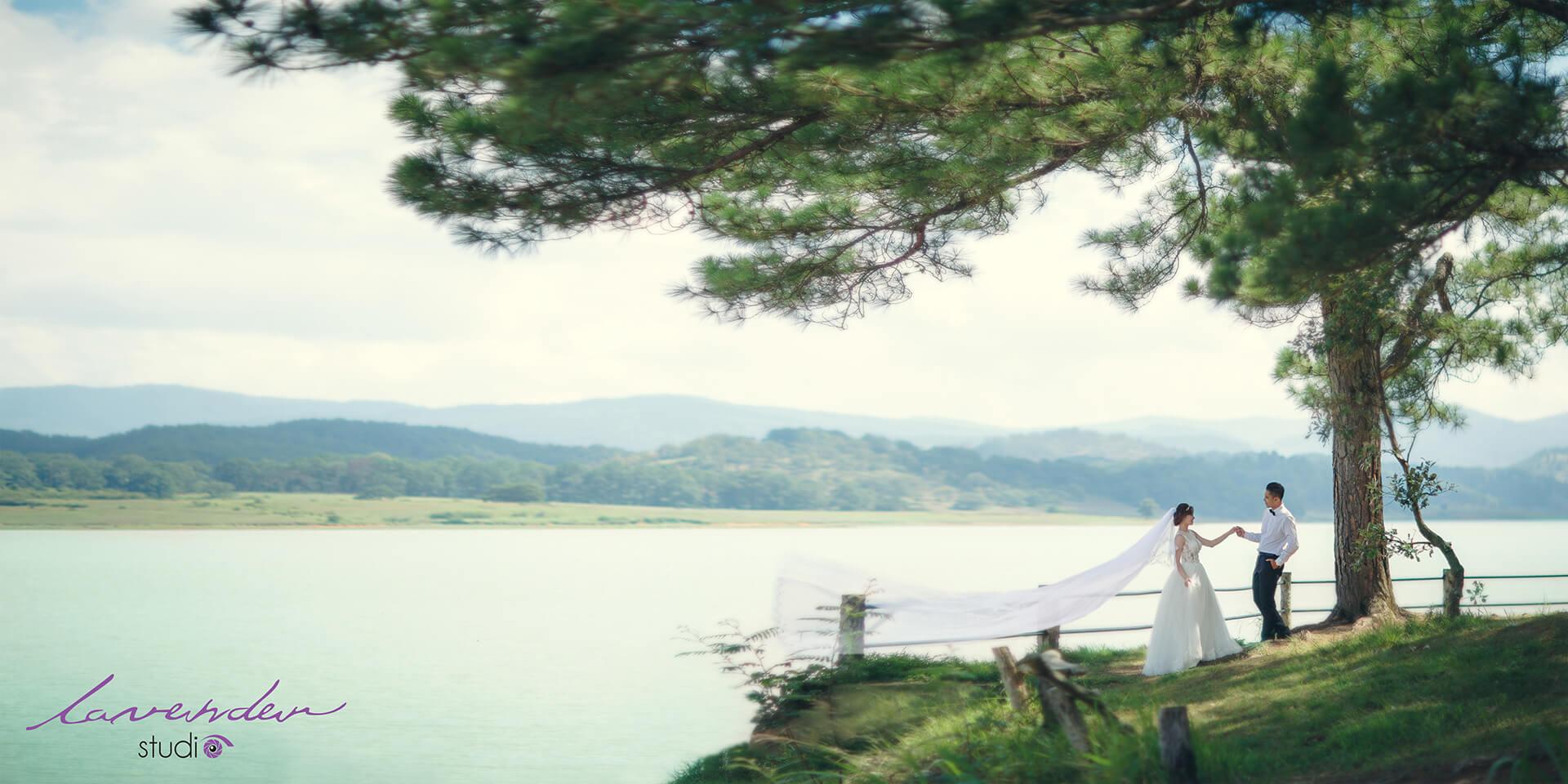 chụp hình cưới ngoại cảnh rẻ ở Đà lạt