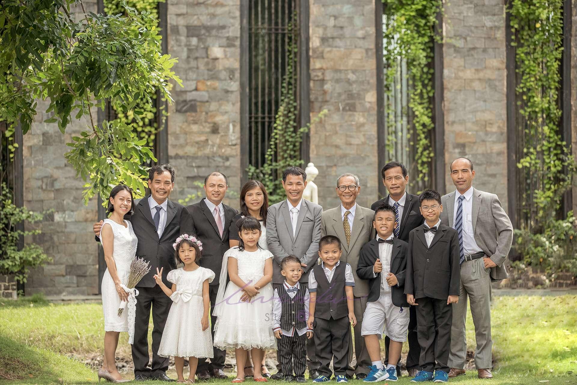 chụp ảnh đại gia đình đẹp hà nội