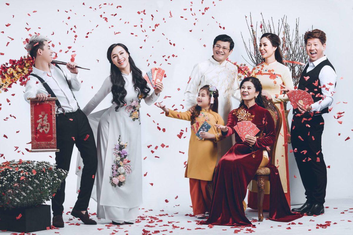 dịch vụ chụp ảnh đại gia đình ở Hà Nội chất lượng