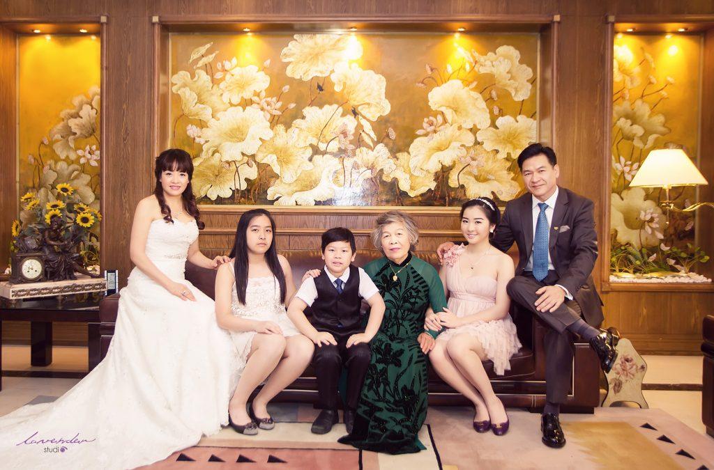 dịch vụ chụp ảnh đại gia đình ở Hà Nội