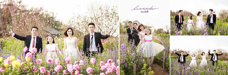 dịch vụ chụp hình gia đình kỷ niệm ngày cưới