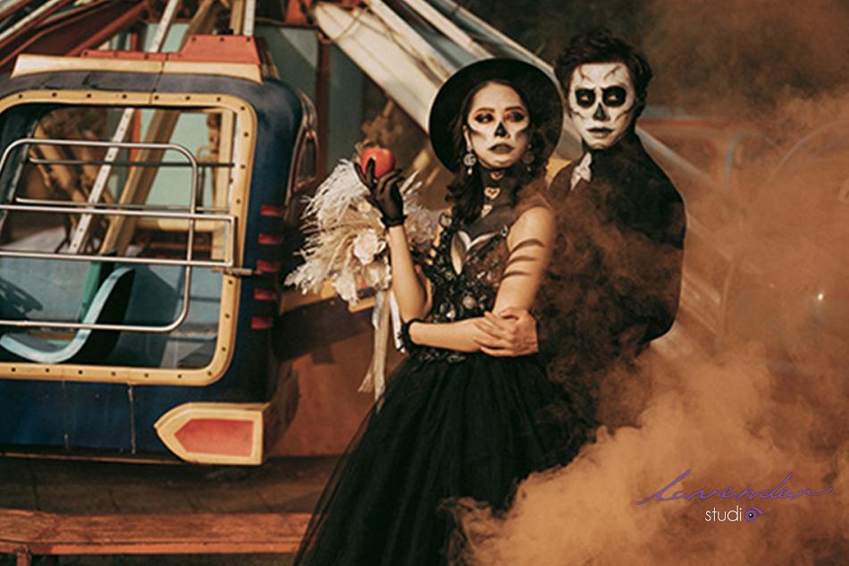chụp hình cưới Halloween