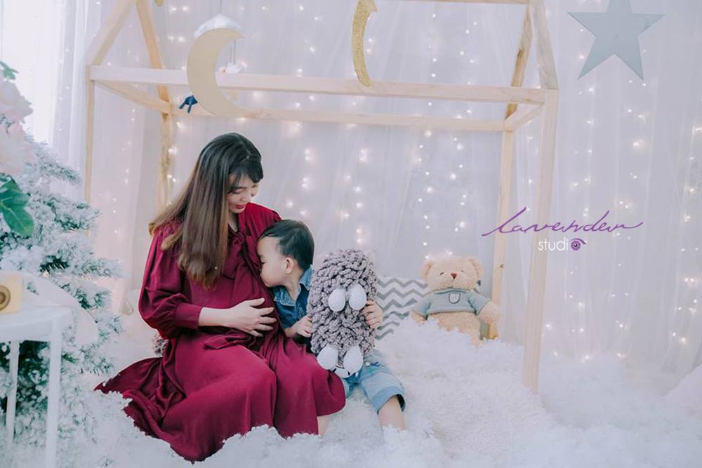 Gói chụp ảnh noel cho mẹ và bé
