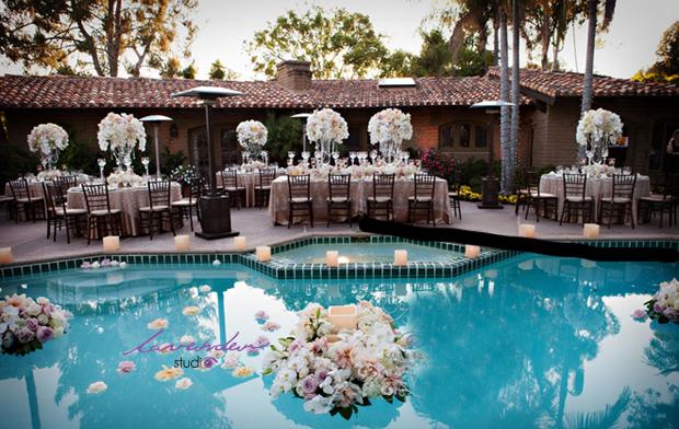 Lavender wedding tổ chức lễ cưới ngoài trời